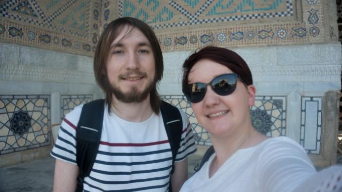 Us at the Bibi Khanum Mosque
