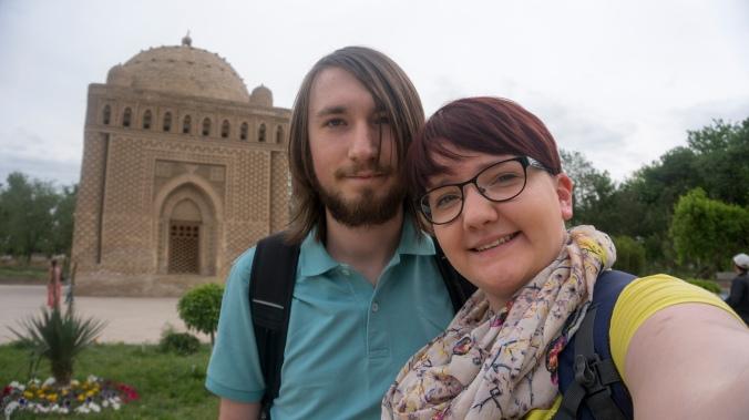 Us at the Ismael Samani Mausoleum