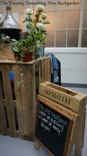 Sipsmith stand