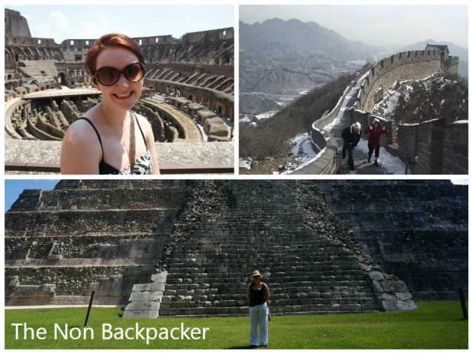 Colosseum, The Great Wall and Chichen Itza