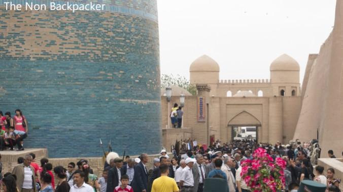 Khiva's busy!
