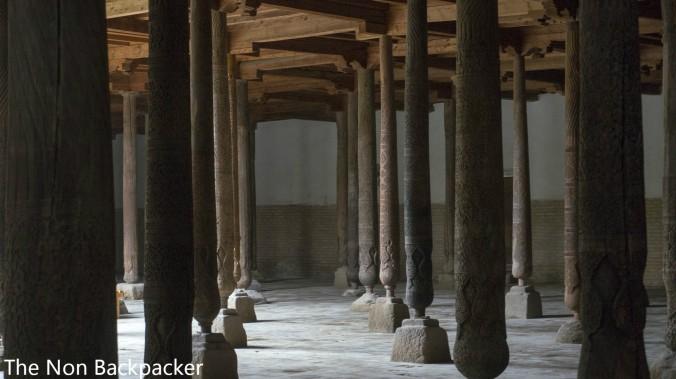 213 Wooden Pillars