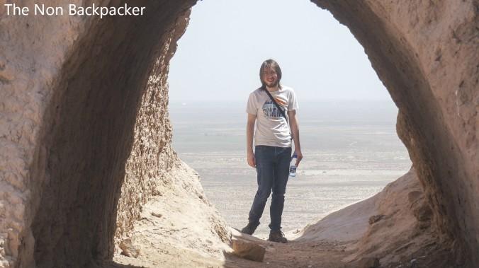Stuart in the desert