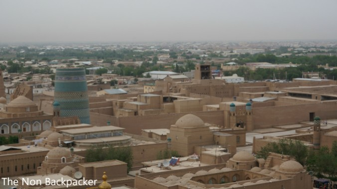 The beautiful Khiva