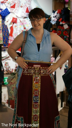 Traditional skirt