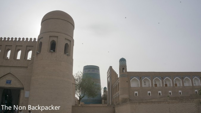 On the way to the Khiva Madrassah