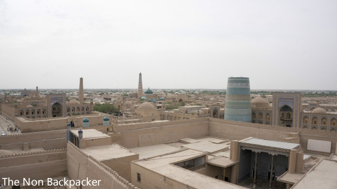 Khiva from the roof tops