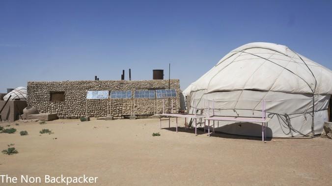 Solar Powered Yurt
