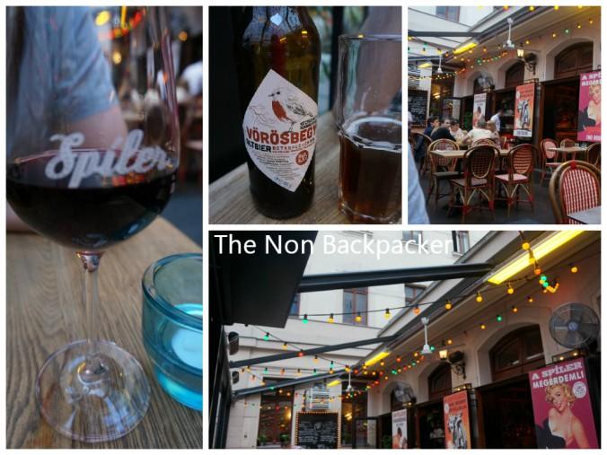 Beer, Wine, Food, Atmosphere!