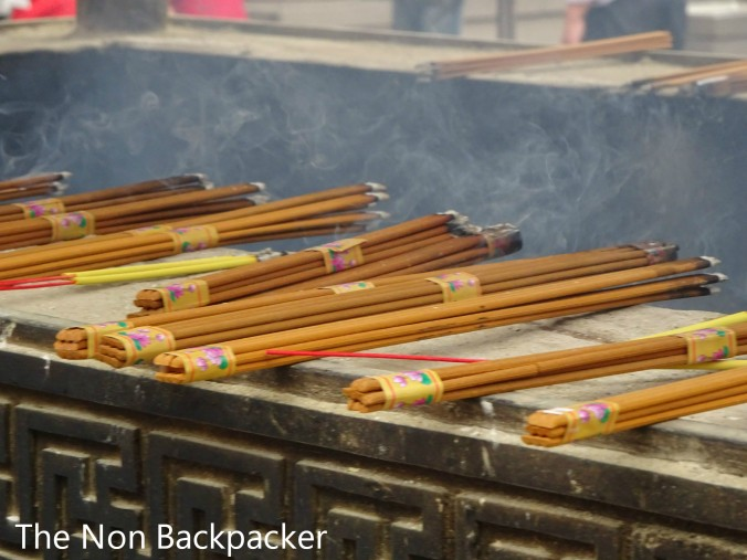 Incense at the Jing-an Temple