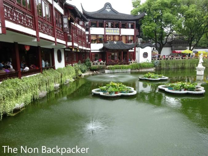 Outside the Yuyuan Gardens