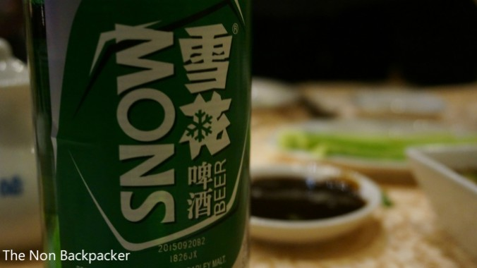 Snow Beer - yummy